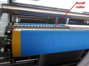 Fabric Inspection and Rolling Machine06