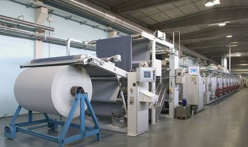 Máquinas de acabado textil