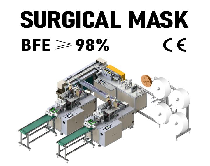 AUTOMATIC MEDICAL FACE MASK MACHINE